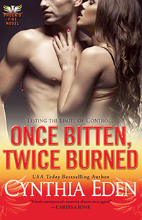 Once Bitten, Twice Burned by Cynthia Eden