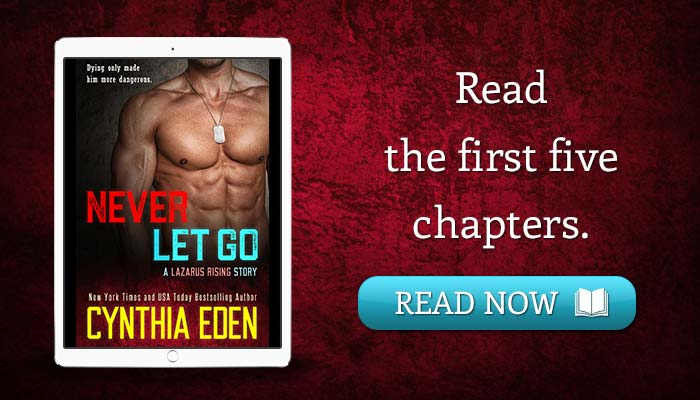 Read the first five chapters of NEVER LET GO.