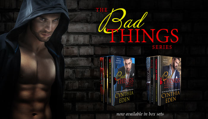 The Bad Things Series: The Devil In Disguise, On The Prowl, Undead Or Alive, Broken Angel
