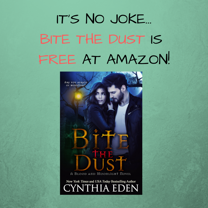IT'S NO JOKE...BITE THE DUST IS FREE AT AMAZON!